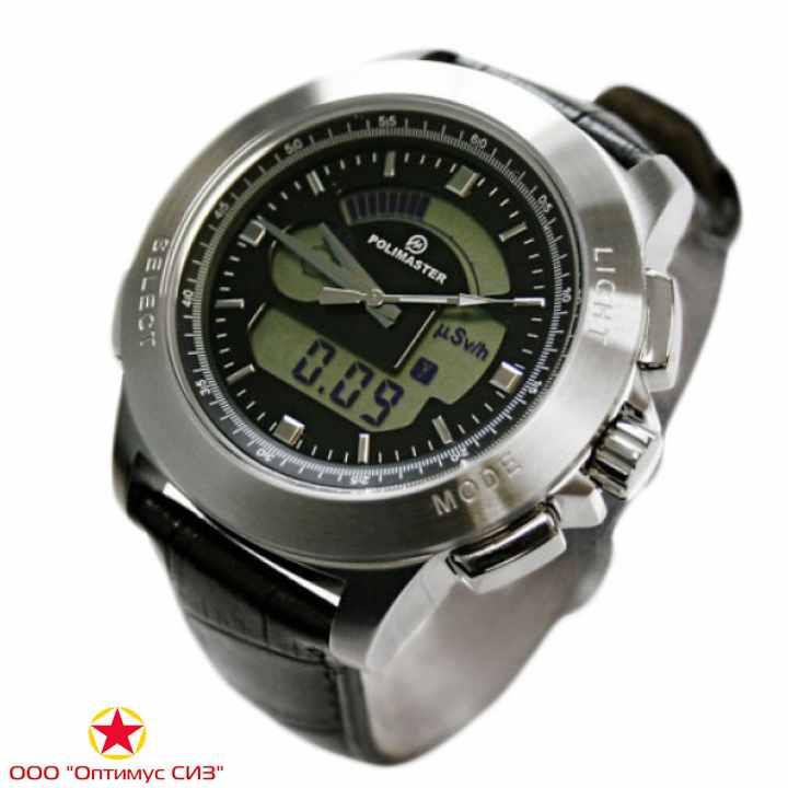 Фото Сигнализатор-индикатор гамма-излучения СИГ РМ1208М (наручные часы)
