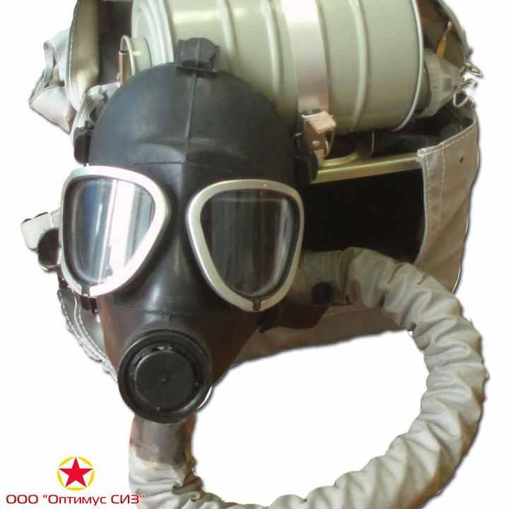 Фото Противогаз изолирующий ИП-4Мк (с РП-7Б)