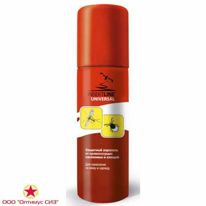 Фото Защитный аэрозоль от укусов кровососущих насекомых INSEKTLINE®